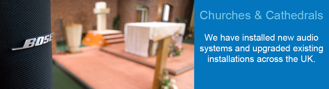 Sound systems for Churches